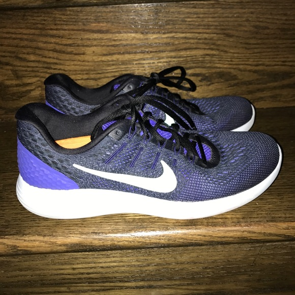 best service aa699 894a6 ... new style wms nike lunarglide 8 violet green running shoes 21c79 f534d